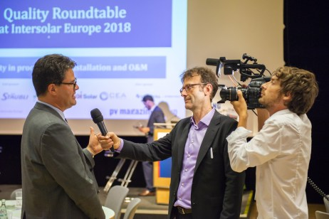 Editor in Chief Michael Fuhs spoke to Stephan Padlewski of DuPont at the 9th Quality Roundtable.